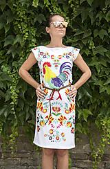 Šaty - Kohútik Jarabý - letné šaty - 8306663_