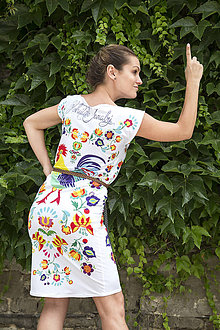 Šaty - Kohútik Jarabý - letné šaty - 8306665_