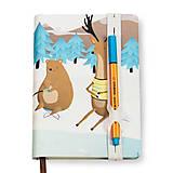 Papiernictvo - Zápisník A6 Pri jazierku - 8306537_