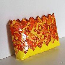 Peňaženky - oranžová peňaženka - 8305816_