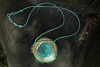 Náhrdelníky - náhrdelník lagúna - 8307773_