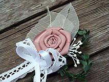 Pierka - Svadobné pierko pre ženícha - 8308341_