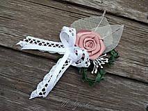 Pierka - Svadobné pierko pre ženícha - 8308343_