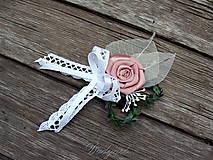 Pierka - Svadobné pierko pre ženícha - 8308344_