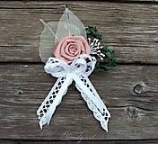 Pierka - Svadobné pierko pre ženícha - 8308347_