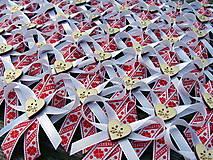 Pierka - Svadobné pierko Písmenkový FOLK - 8308482_