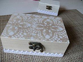 Krabičky - Šperkovnica Jemná - 8308984_