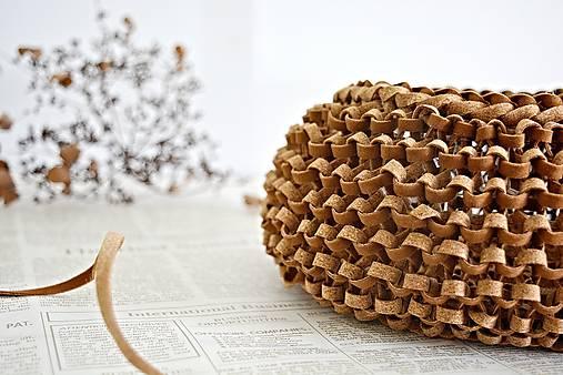 Korkový pletený košík   Silur - SAShE.sk - Handmade Košíky 2007881bee