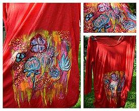 Tričká - kvety - 8308096_