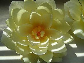 Ozdoby do vlasov - sponka veľký kvet - 8309047_