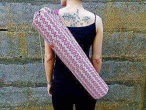 Iné tašky - taška na joga podložku - Geometrický vzor - 8310102_
