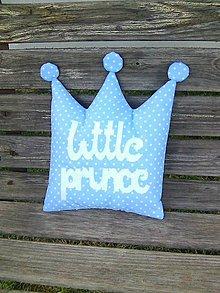 Textil - Little prince modrý - 8308350_