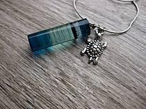 Náhrdelníky - Farebný a dúhový živicový náhrdelník - 8308311_