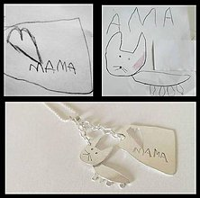 Iné šperky - Detské výtvory :) - 8310150_