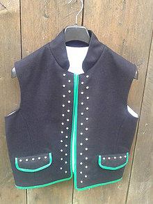 Oblečenie - Pánska vesta ku kroju - 8310001_