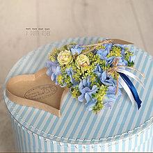 Dekorácie - Srdiečková gratulačná krabička - 8308681_