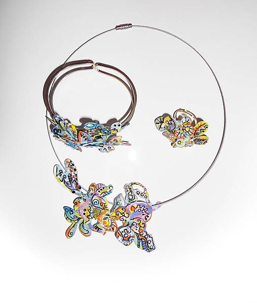 set deti slnka-náhrdelník,náramok, prsteň
