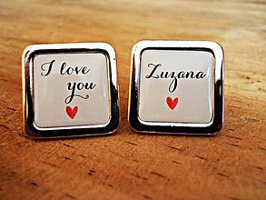 Šperky - I love you... - 8310581_