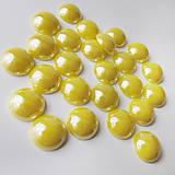 - Perleťový: Kyslý citrón / sklenený kabošon 11,5mm - 8310723_