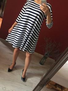 Šaty - Šaty ženy námorníka - 8311621_