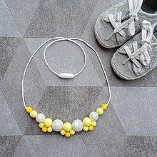 Náhrdelníky - Silikónový žužlací náhrdelník