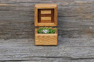Krabičky - krabička na snubný prsten - 8312793_