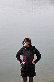 Kabáty - Bunda SShell PUNK(T) VIOLET - 8314721_