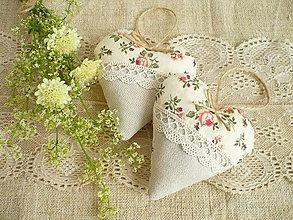Darčeky pre svadobčanov - Svadobné srdiečka - 8315705_
