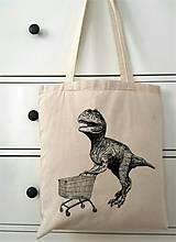 Nákupné tašky - Dino dino dinosaurus - 8314157_