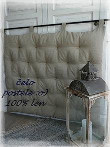 Úžitkový textil - čelo postele...ručně prošívané - 8314955_