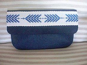 Kabelky - Listová kabelka s výšivkou - 8314037_