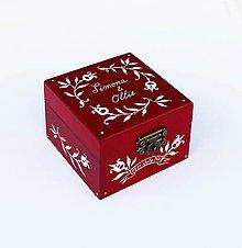 Krabičky - Maľovaná šperkovnička na želanie - 8313791_
