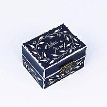 Krabičky - Maľovaná šperkovnička - 8313792_