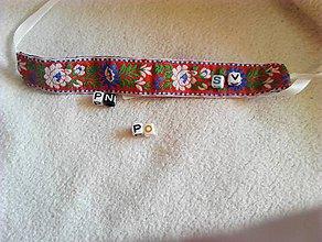 Náramky - folk náramok s označením mesta NA ZáKAZKU - 8313214_