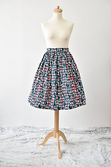 Sukne - nariasená sukňa \