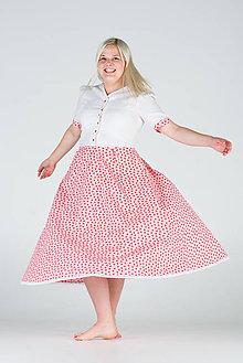 Šaty - Šaty s čerešňami - 8315814_