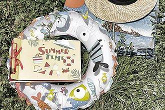 Papiernictvo - Klasický fotoalbum polyetylénový obal s potlačou ,,Summer Time,, - 8313804_