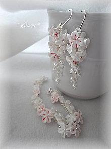 Sady šperkov - Jemnosť kvetinkový set - 8315478_