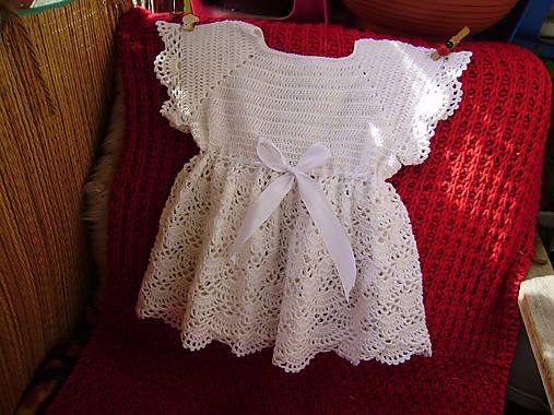 886c008c0 Detské háčkované šaty / babenka - SAShE.sk - Handmade Detské oblečenie