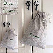 Úžitkový textil - Vrecúška na bylinky a sypaný čaj - 8313701_