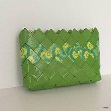 Peňaženky - zelená peňaženka - 8313562_