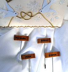 Pierka - svadobné pierka... - 8316053_
