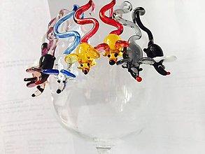 Drobnosti - závěsné myšky k odlišení skleniček - 8316774_