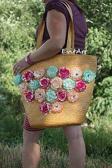 Kabelky - Plážová taška - 8317010_