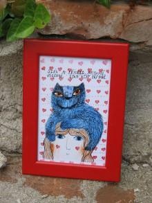 Kresby - obrázek s kočkou - 8317597_