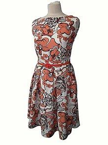 Šaty - ľanové šaty - 8316421_