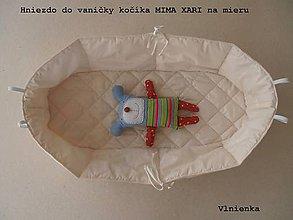 Textil - Hniezdo do vaničky kočíka MIMA XARI 100% bavlna smotanová na mieru - 8316805_