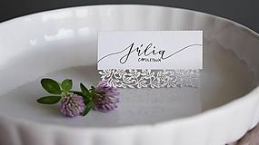 Papiernictvo - Svadobné menovky // Rómeo a Júlia - 8318345_