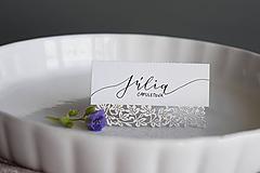 Papiernictvo - Svadobné menovky // Rómeo a Júlia - 8318349_