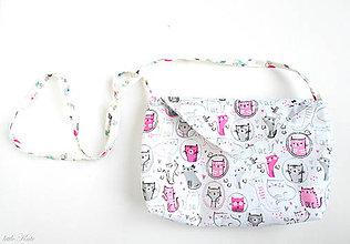 Detské tašky - Kabelka pre malé slečny Kittens - 8317328_